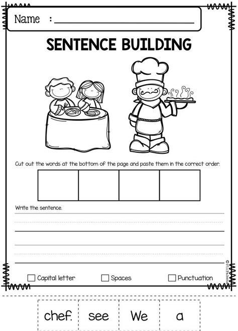 best 25 sentence building ideas on pinterest sentence writing simple sentences worksheet and