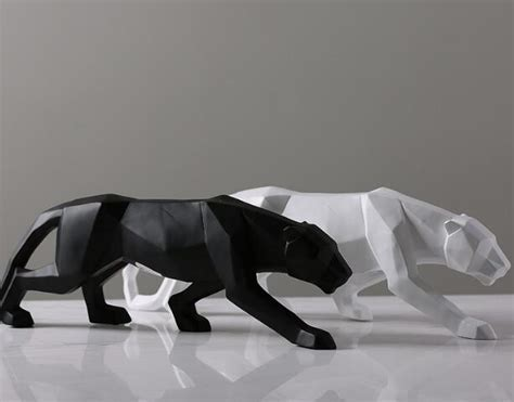 Black Panther Cat Contemporary Sculpture ? ChadStore.co.uk