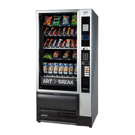 machine cuisine samba top food vending machine express vending