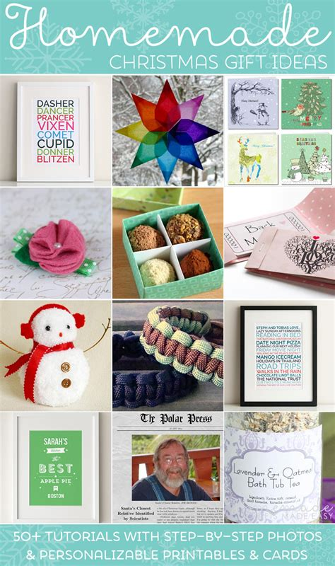 easy homemade christmas gift ideas  inexpensive