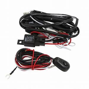 Car Fog Light On  Off Switch Relay Wiring Harness