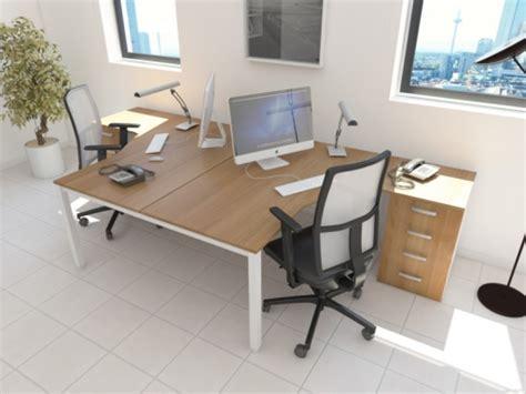 bureau deux personnes bureau bench compact 2 personnes design