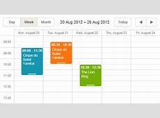 DHTMLX Scheduler NET 20 for ASPNET MVC by DHTMLX