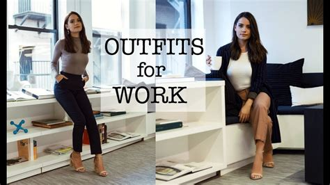 office lookbook professional outfit ideas youtube