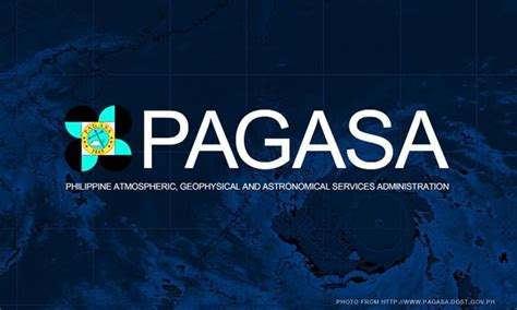The philippine atmospheric, geophysical and astronomical services administration (filipino: PAGASA releases statement on January 2018 'super typhoon ...