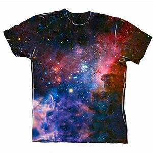 Yizzam- Carina Nebula Space Galaxy - New Men Unisex Tee ...