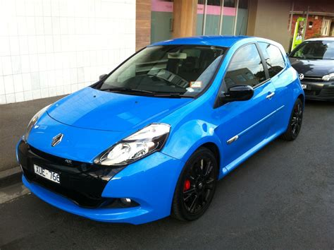 Renault Clio Rs200 In French Racing Blue