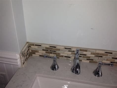 Tile Backsplash Edge Finishing : Need Help Finishing Backsplash