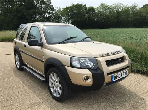 land rover freelander 2004 land rover freelander td4 2 0 diesel 4x4 suv video