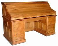 antique roll top desk Fantastic Antique 19th C. American Oak Rolltop Desk #1638 ...