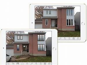 Simulateur Couleur Volets : facade maison fenetre blanche ~ Melissatoandfro.com Idées de Décoration