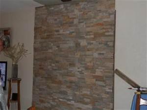 Leroy Merlin Plaquette De Parement : plaquette de parement pierre naturelle beige gris ~ Dailycaller-alerts.com Idées de Décoration