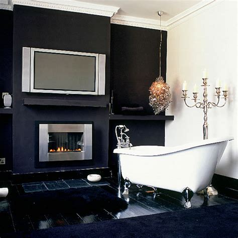 traditional black  white bathrooms  inspire digsdigs