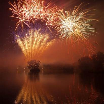Fireworks Water Warby William Ocean Calm Feeling