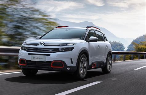 Citroen Car : Citroen C5 Aircross (2018) Revealed In Shanghai