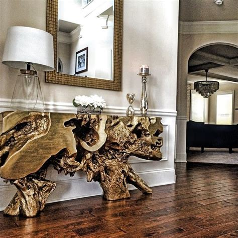 gold entry table golden first impressions with our sequoia console table photo mrs hetty gold pinterest