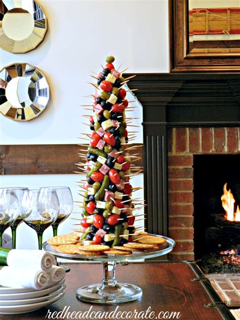 christmas decorated appetizer ideas appetizer tree can decorate