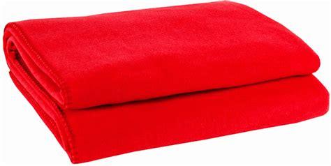 Decke Soft Fleece Rot  Interismo Onlineshop
