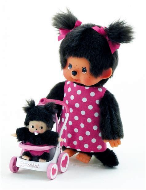 preissturz monchhichi monchichi girl mit kinderwagen und