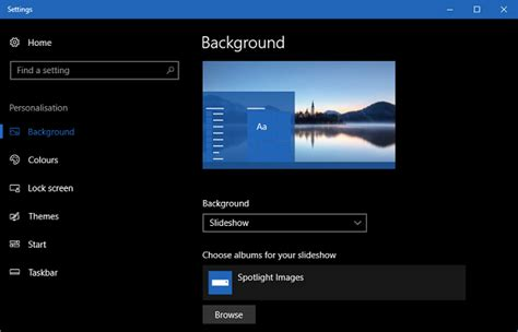 Custom Themes How To Create Custom Themes In Windows 10