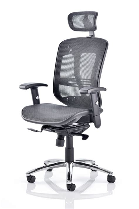 tuxedo all mesh task chair reality