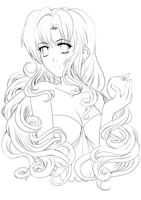 how to color lineart for the fairest lineart free to color by sekaia on