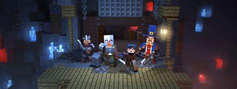 minecraft dungeons news steve  dungeon crawling