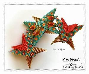 Geometric Peyote Stitch Beaded Wings Spacer Beads Beading