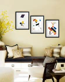 Frame decor examples for living room mostbeautifulthings