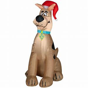 Scooby Doo Inflatable Christmas Decoration: Scooby-Style ...