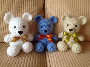 25+ ideias exclusivas de Urso de crochê no Pinterest