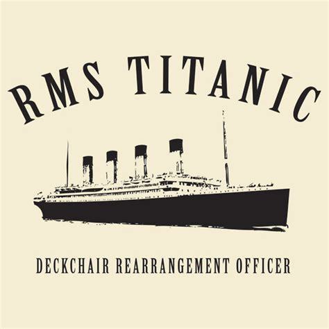 rearranging deck chairs on the titanic office of solid waste and emergency response and