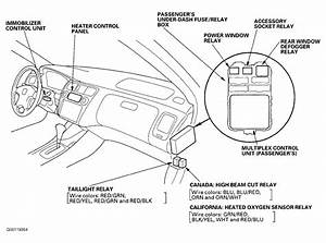 2002 Nissan Pathfinder Fuse Box Diagram