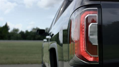 2016 gmc sierra tail lights 2016 gmc sierra 1500 lineup gets a more chiseled look