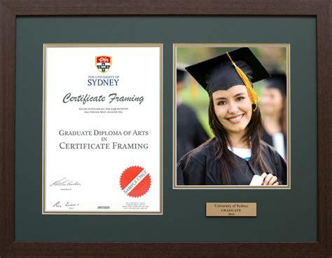 certificate framing university degree frames