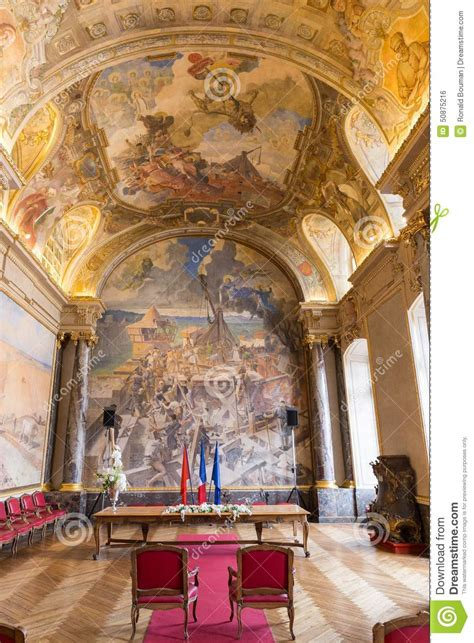 salle des illustres in the capitole the toulouse editorial photo image 50875216