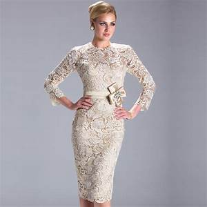 ivory elegant long sleeve evening dress 2015 short cheap With long sleeve cocktail dress for wedding