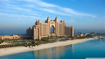 Hotel Atlantis Dubai Wallpapers Beach Desktop Strand