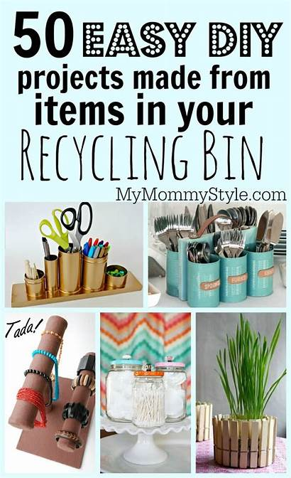 Recycling Projects Easy Bin Crafts Recycled Useful