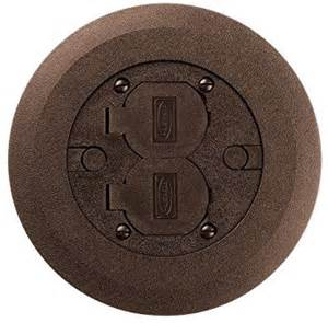 Hubbell Floor Box Covers by Hubbell Wiring Systems Pfbcbra Thermoplastic Abs Round