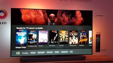 Tv 4k Philips Ambilight Anteprima Android Tv Philips 65 Oled 4k Ambilight Wow