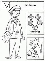 Coloring Mailman Popular Library Clipart Line sketch template