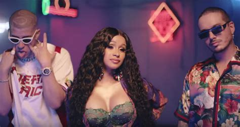 Cardi B, Bad Bunny, & J Balvin 'i Like It'