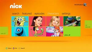 Nickelodeon And Comedy Central Apps Come To The Xbox 360