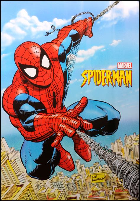 Sold Price Original Spiderman Marvel Poster March 5