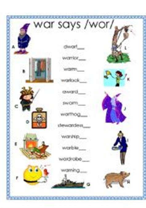 English Teaching Worksheets Phonetics