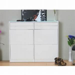 Schuhregal Weiß Hochglanz : besonderer schuhschrank glas oder mit glasfront ~ Orissabook.com Haus und Dekorationen