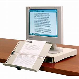 copy holder by humanscale ergocanada detailed With document holder attached to monitor