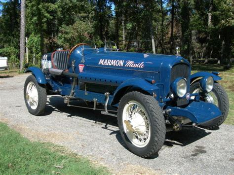 Boat Car Race by One 1929 Marmon Boat Racer Bring A Trailer