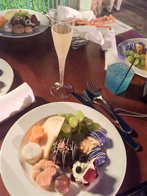disney date night idea world  color dessert party